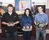 Senior Winners of the Fiddler of Dooney Competition 2011, Niall Murphy, Mairead Hickey, Phil Clarke